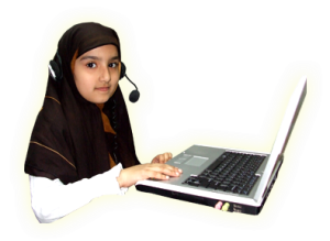 Girl Reciting Quran